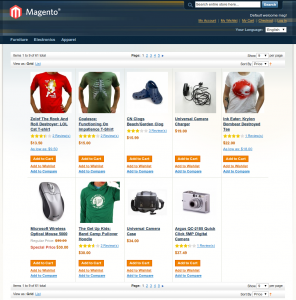 Mmartinovic Productlist Magento extension